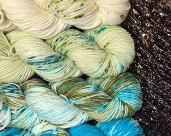 Trevor Morgan DK, Hand Dyed Yarn, DK weight, Superwash Merino, Number 3, 8 ply, Hand dyed, Light Worsted, Feel It Still