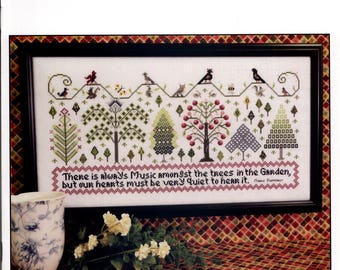 Rosewood Manor: Music Amongst the Trees - Cross Stitch Pattern