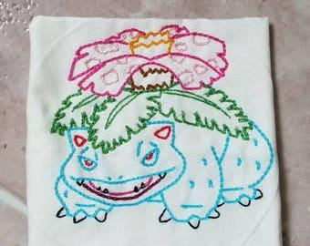 Venasaur Embroidery