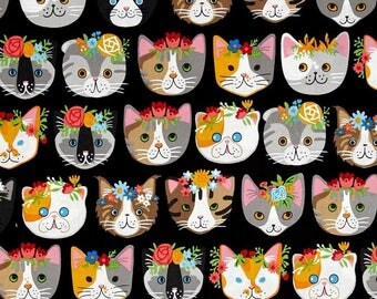 """FRIDA MEOW Valance or Panel 40 X  12"""" 14"""" 18"""" 24"""" 32"""" Lined or Unlined Pink or Blue or Black"""