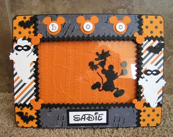 Disney Halloween Frame - Mickey's Not So Scary Halloween
