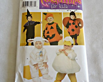 Simplicity 3605 Simplicity Sewing Pattern Toddlers Costumes Sewing Pattern  UNCUT  Sizes 1/2 1 2 3 4