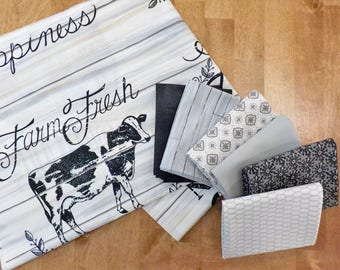 Homegrown...6 fat quarter bundle and Homegrown panel...by Deb Strain for Moda Fabrics