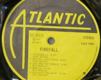 Firefall - UPCYCLE Vinyl Record Bowl
