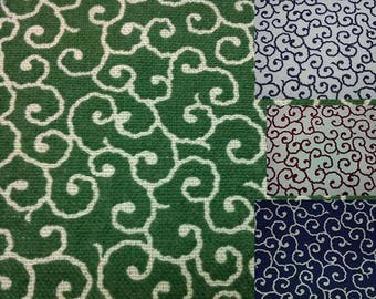 SALE - Japanese classic pattern, fat quarter, pure cotton fabric
