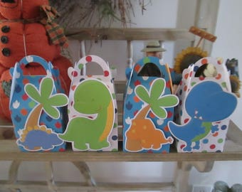 Dinosaur Gable Favor Boxes Set of 28 with Free Shipping