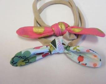 Baby Knot Hairbands Soft Stretchy Hair Bands for Babies, Toddlers and Little Girls