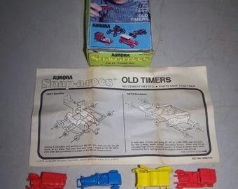 Vintage 1975 Aurora Snap A Roos Model Car Kit