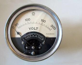 Italian Vintage Voltmeter