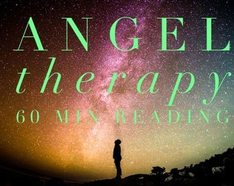 Angel Therapy 60 Minute Reading -Voice Recording Sent To Your Email