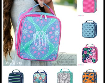 Personalized Lunch Bag ~ Personalized Lunch Tote ~ Kids Personalized Lunch Box ~ Monogrammed Lunchbox ~ FREE Personalization ~ Quick Ship