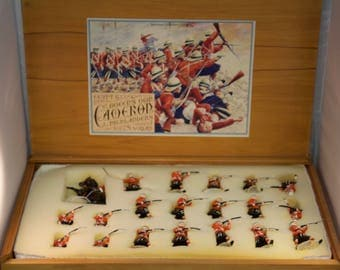 Imperial Collectors, Heirloom Series No. 2, Queen's Own Cameron Highlanders in Action, Toy Lead Soldiers