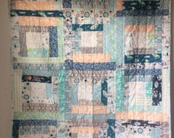 Outdoorsy Baby Boy Quilt
