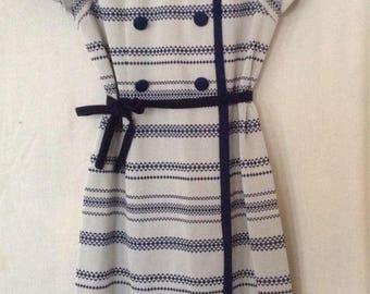 """Vintage mod dress  """"Mary Kate""""  of Sydney , winter shift."""