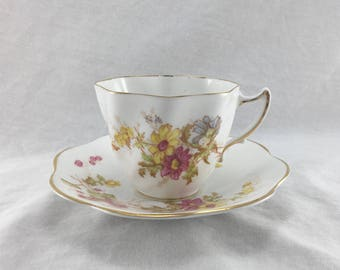 Rosina Bone China Cup and Saucer Pattern 4948, Made in England