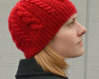 Lineweaver Adult Hat PDF Knitting Pattern by Vint Hill Knits