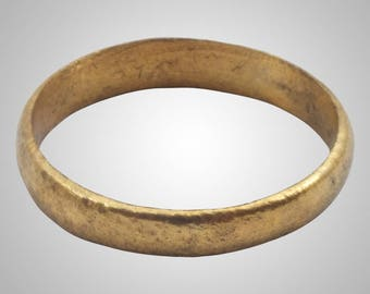 Authentic Ancient Viking  wedding Ring, medieval ring, wedding band, wedding ring  C.866-1067A.D. Size 11 1/2   (21.2mm)(Brr1014)