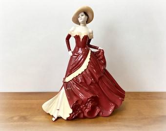 Coalport China Figurine Ladies of Fashion Marilyn