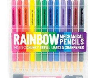 Pencils MECHANICAL COLORED PENCILS like pilot color eno colored pencils adult coloring children coloring pencil planner, journaling