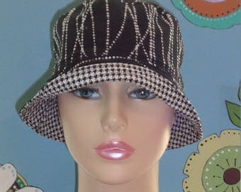 Cancer Cap Hat Hair Loss Hats Alopecia Hat Made in the USA. ( For Size Guide, see 'Item Details' below photos) MEDIUM