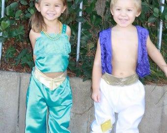Aladdin costume 0-6y
