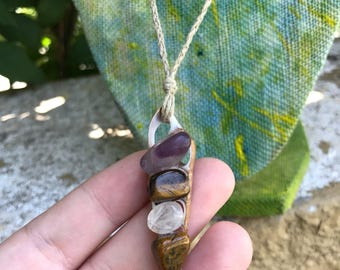 Hemp Jewelry, Beach Necklace, Boho Style Jewelry, Hemp Necklace, Seashell Jewelry
