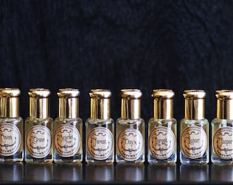 Perfume Oil- The Parlor Apothecary - Choose your Scent- 5 mL