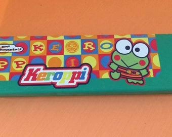 Vintage 90s Sanrio Keroppi Pencil Case