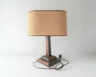 oval lamp shade cabin decor farmhouse rustic modern bungelow mid century