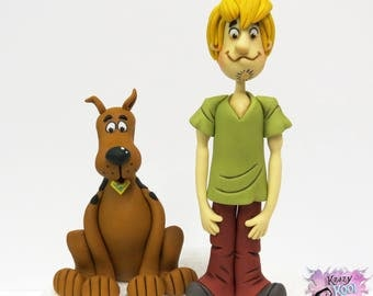 Scooby Doo And Shaggy Cake Topper Set