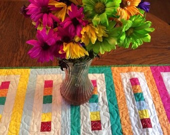 Colourful Table Runner