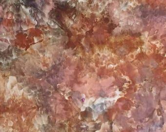 Ice Dyed Fabric, African Safari, Fat Quarter (LS) #150