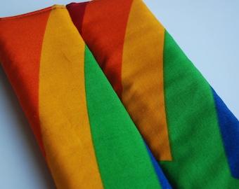 seatbelt covers car 1 pair Rainbow