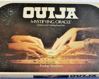 Ouija Board, Game, 1972, Mystifying Oracle, William Fuld, Parker Brothers,