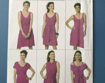 Butterick Wrap Dress Pattern B5606 Uncut U.S. Size XSmall, Small, Medium