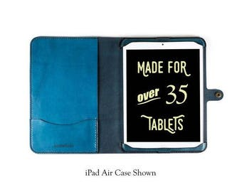 iPad Pro 10.5 All Leather Case, ipad pro 10.5 case, leather ipad pro 10.5, custom ipad pro 10.5