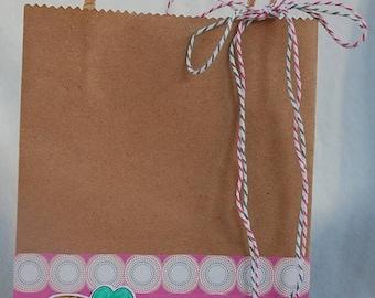 Heart Balloon Luka Gift Bag Handmade
