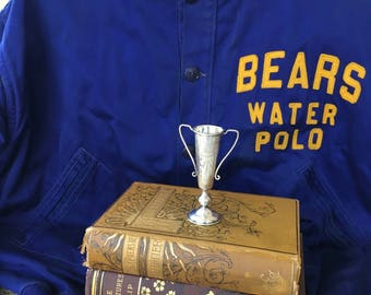 """Charming 1942 Stanford University """"Bears"""" Water Polo Team Jacket"""