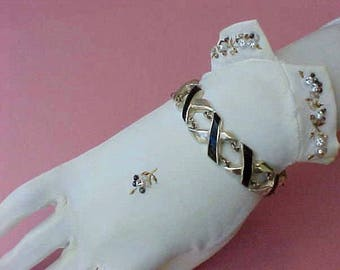 "Beautiful Vintage Sterling Silver Mexican Silver Taxco Bracelet Signed: ""Ledesma"""