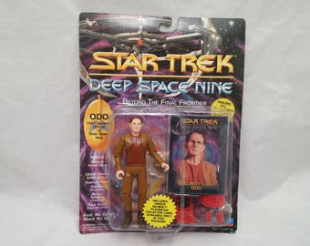 Star Trek Deep Space Nine Security Chief Odo Action Figure - New in Box - NIB - Beyond The Final Frontier Series
