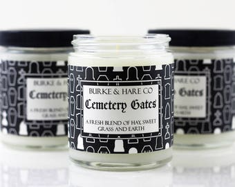 Cemetery Gates - Scented Candle - Goth Candle