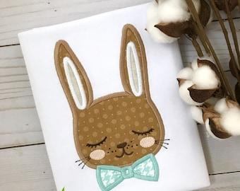 Easter shirt, boys Easter shirt, Easter Bunny Shirt, Easter outfit, Easter rabbit shirt, rabbit shirt, spring shirt, spring outfit, boys top