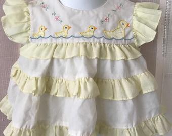 Vintage Baby Dress, 3-6 mos.