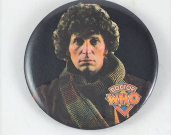 Dr. Who Pinback Button