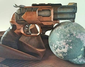 Steampunk Blaster. Fully functional - highly customized Nerf Doublestrike