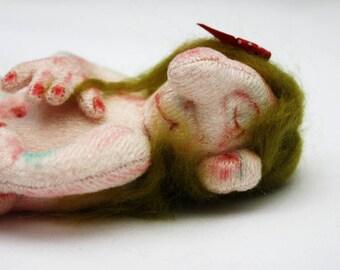 Suli Troll Baby Cloth Art Doll
