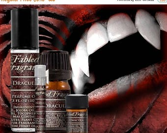 SALE DRACULA - Perfume Oil with Lilac, Ylang Ylang, Dragons Blood, Musk, Amber, Styrax - VEGAN Solid Perfume, Vampire, Ships Out in 5-7 Days