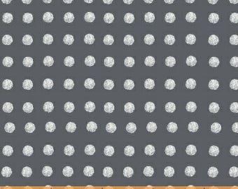 Lemmikki by Lotta Jansdotter for Windham Fabrics - 43093-8 - Ash - 1/2 Yard Cotton Quilt Fabric