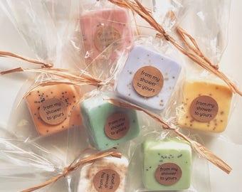 Baby Shower Favors: Baby Shower Soap Favors, Mini Guest Soaps, Favors