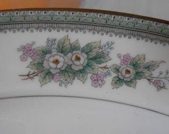 Noritake China platter 5504 Bristol Japan